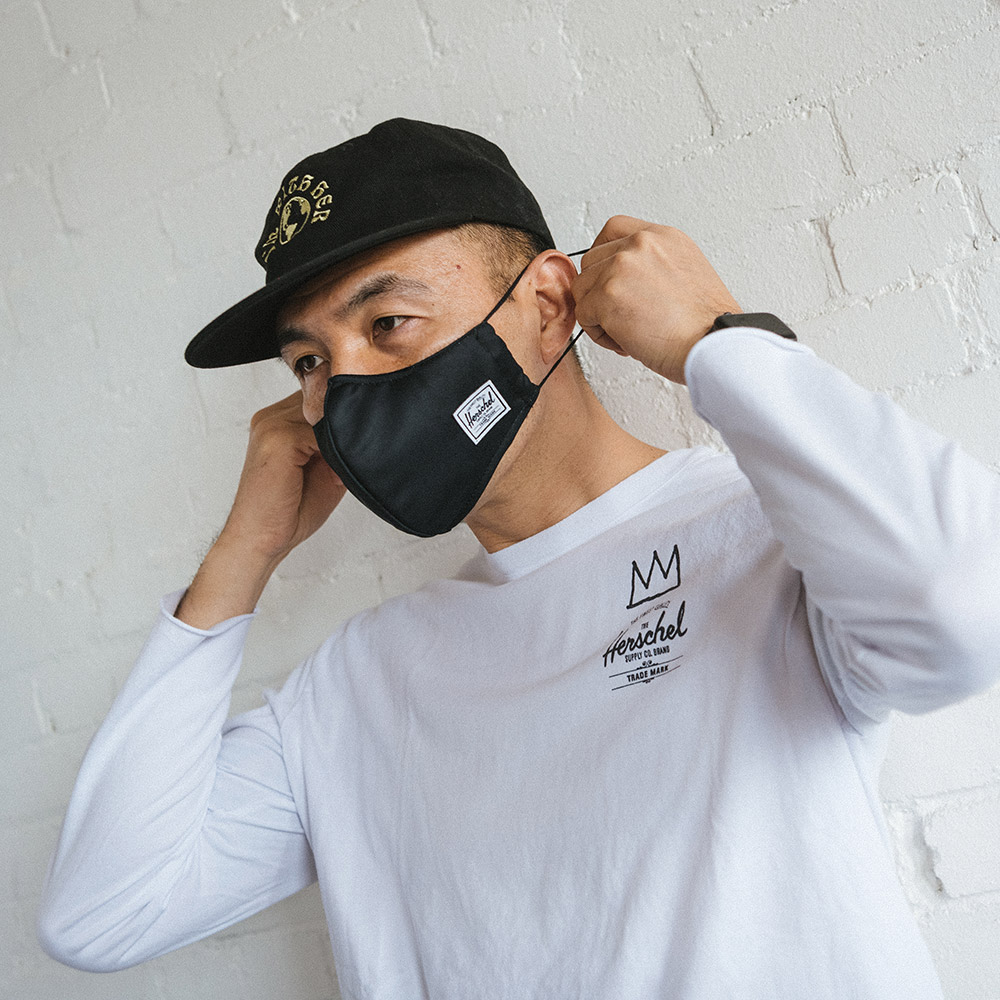 stylish face mask from Herschel