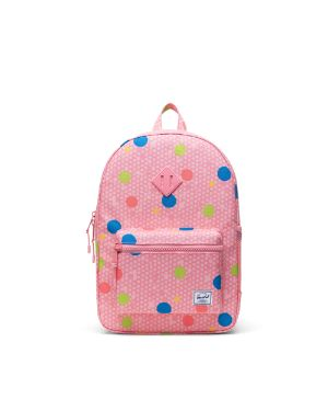 Herschel Kids Supply Heritage XL Youth Backpack Polka Dot Fandango Pink One Size